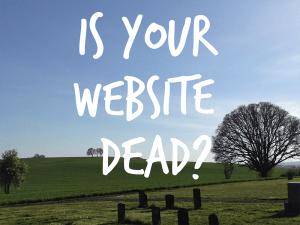 is your website dead